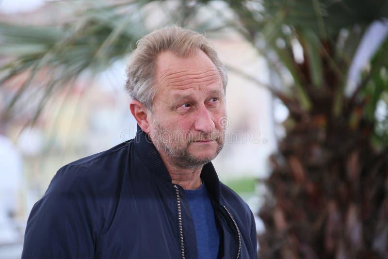 Το Benoit Poelvoorde παρευρίσκεται στο photocall στοκ φωτογραφία