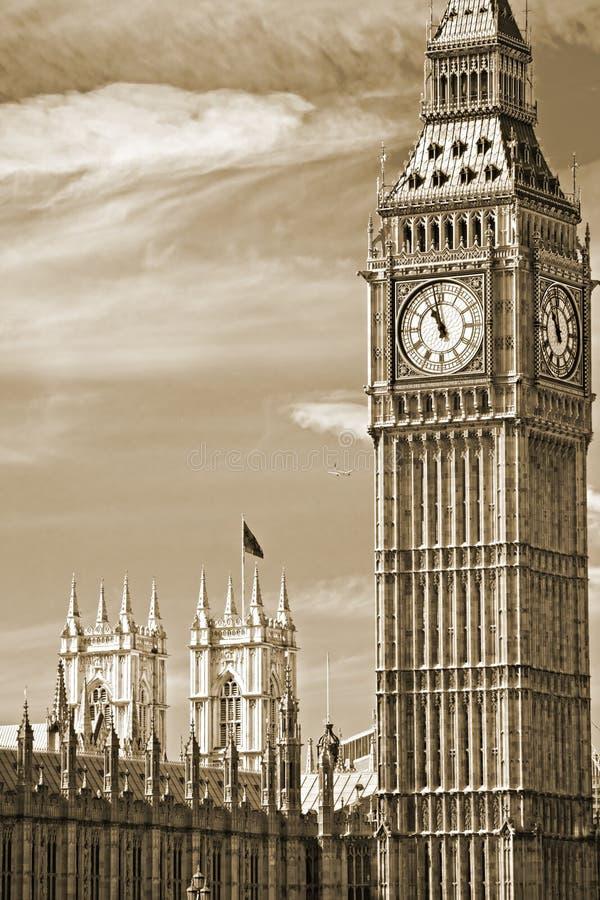 Το Big Ben, Λονδίνο, UK. Στοκ Εικόνες