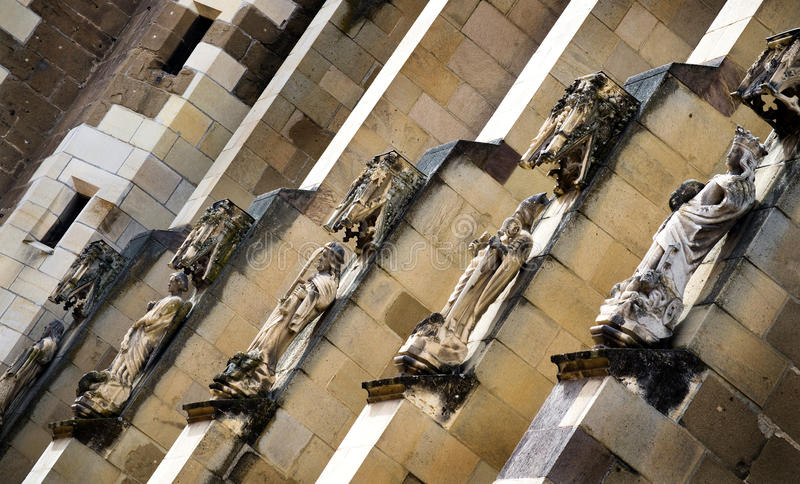 Brasov - μαύρες λεπτομέρειες εκκλησιών στοκ φωτογραφίες με δικαίωμα ελεύθερης χρήσης