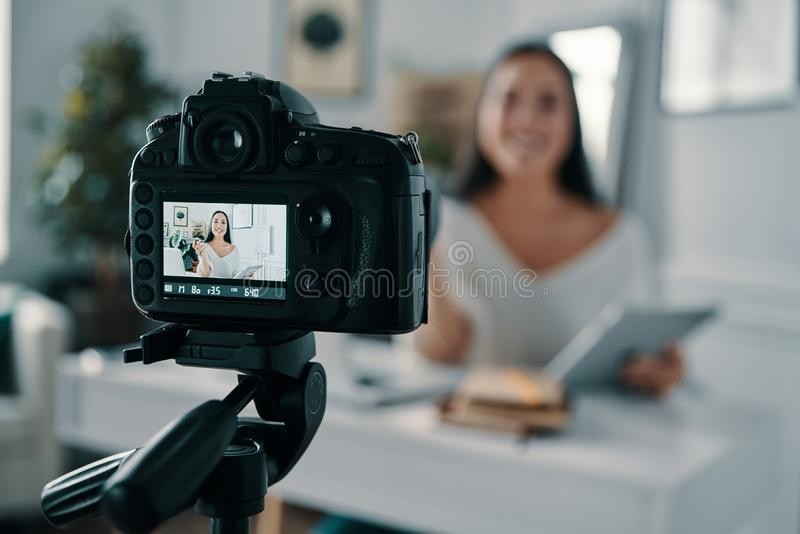 Το Blogging είναι η ζωή της στοκ φωτογραφίες με δικαίωμα ελεύθερης χρήσης