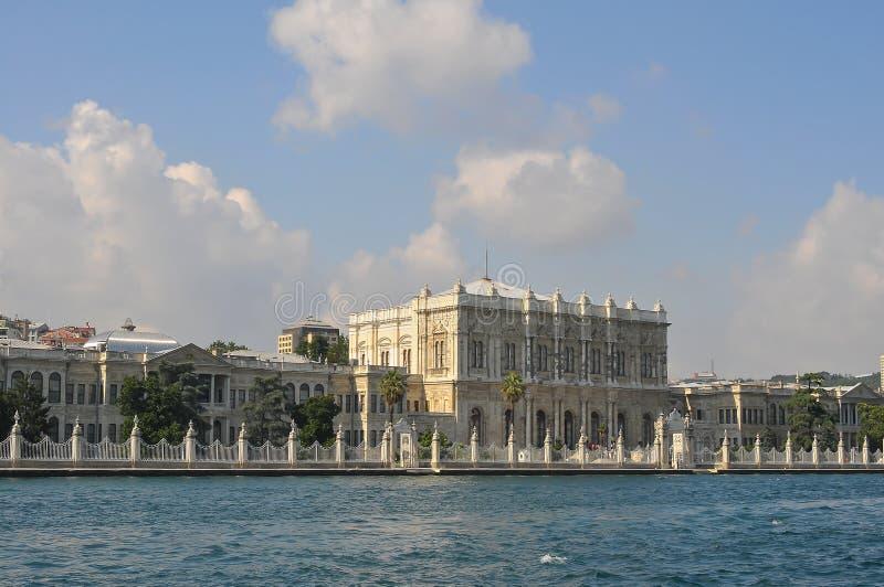 Το Bosphorus είναι ένα στενό που συνδέει τη Μαύρη Θάλασσα με τη θάλασσα Marmara στην Τουρκία στοκ φωτογραφία με δικαίωμα ελεύθερης χρήσης