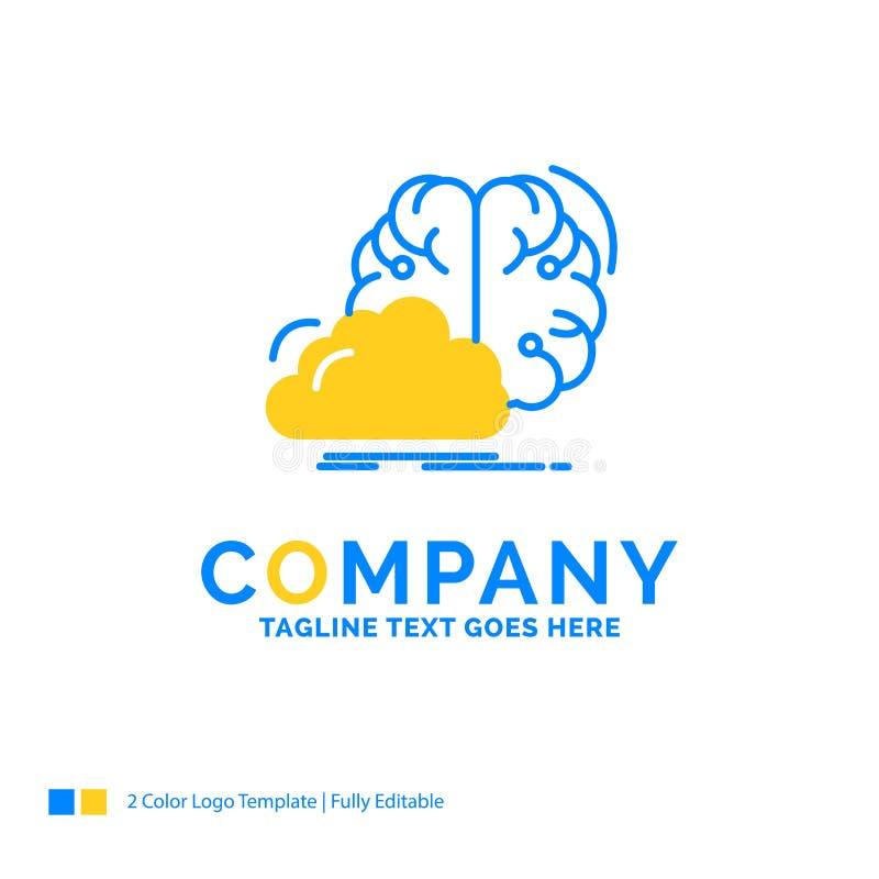 το 'brainstorming', δημιουργικό, ιδέα, καινοτομία, μπλε έμπνευσης φωνάζει απεικόνιση αποθεμάτων