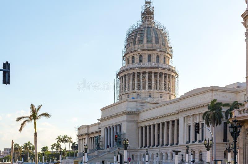 Το Capitol στην Αβάνα, Κούβα στοκ εικόνες με δικαίωμα ελεύθερης χρήσης