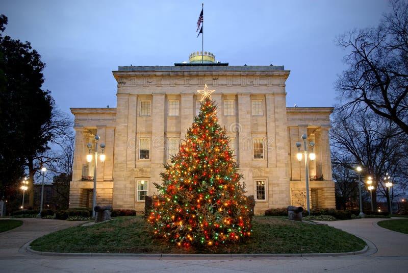 Το Capitol, Raleigh, NC στοκ εικόνα