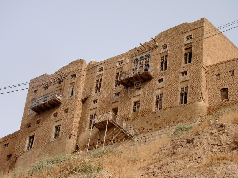 Το Castle Erbil, Ιράκ στοκ φωτογραφία με δικαίωμα ελεύθερης χρήσης