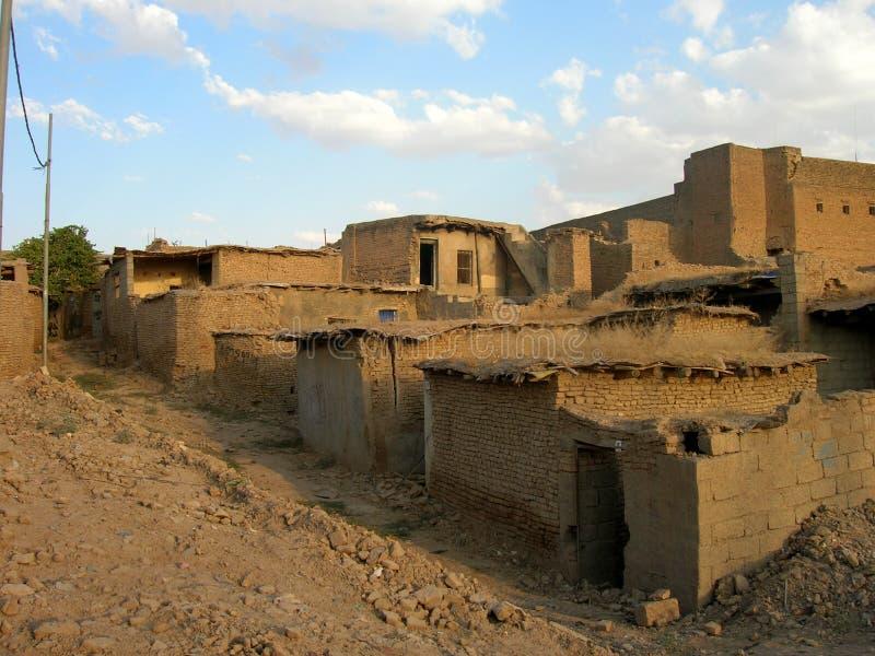 Το Castle Erbil, Ιράκ στοκ εικόνα