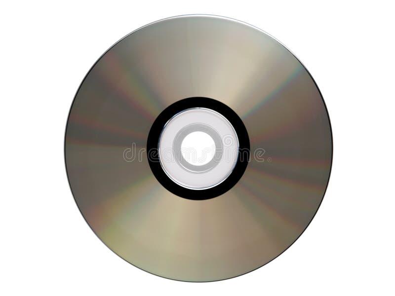 το CD-$l*rom απομόνωσε το ασήμι στοκ φωτογραφία με δικαίωμα ελεύθερης χρήσης