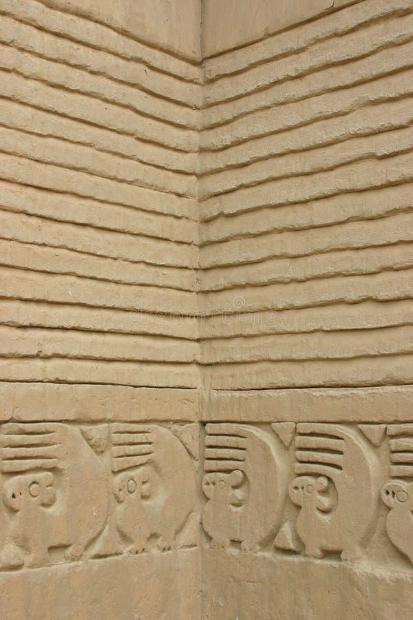 το chan Περού καταστρέφει trujillo στοκ εικόνα