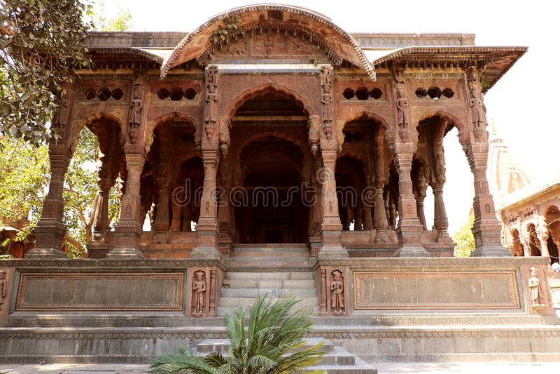 Το Chhattris Indore στοκ εικόνα