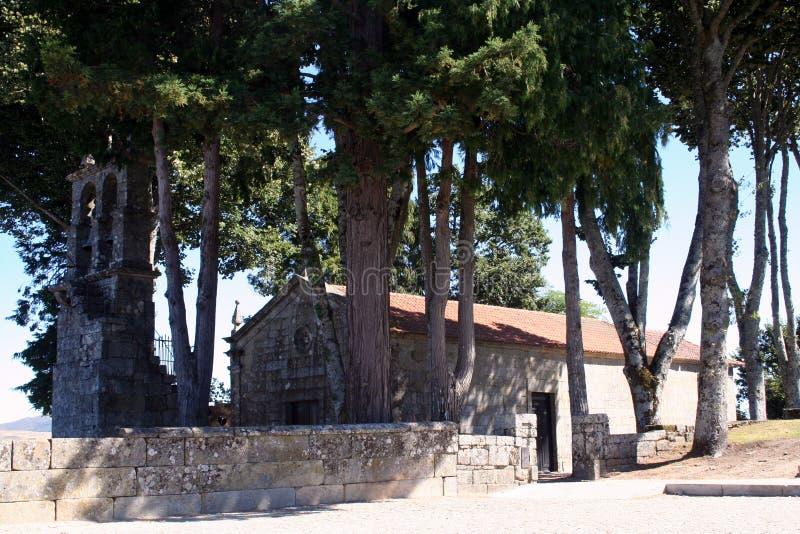 Το churche της Σάντα Μαρία κάνει Castelo στοκ εικόνες