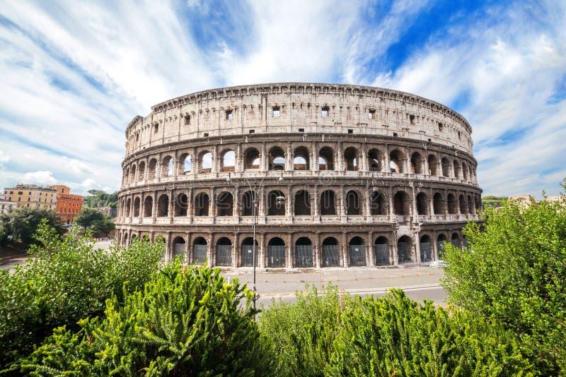 Το Colosseum στη Ρώμη, Ιταλία στοκ φωτογραφίες με δικαίωμα ελεύθερης χρήσης