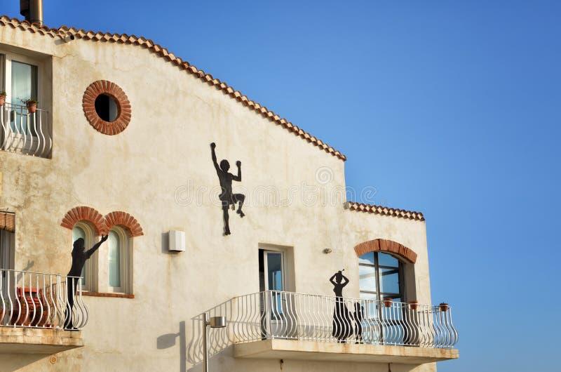Το Di Ραγκούσα μαρινών είναι ένα πολύ δημοφιλές παραθαλάσσιο θέρετρο στη νοτιοανατολική Σικελία στοκ εικόνες με δικαίωμα ελεύθερης χρήσης
