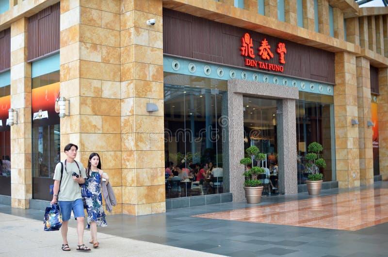 Το DIN Tai Fung ταξινομείται ως ένα από το παγκόσμιο top 10 καλύτερο Restaur στοκ εικόνα