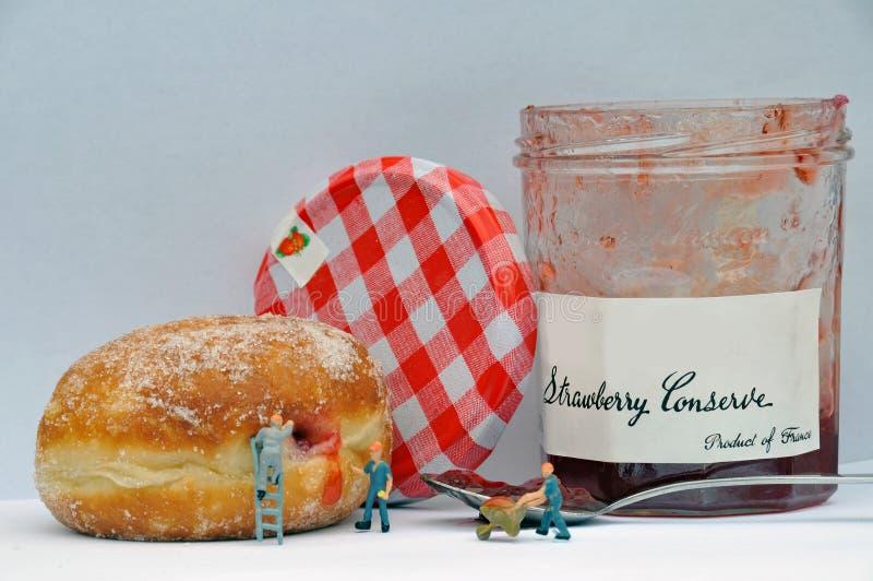 Το Doughnut εργοστάσιο στοκ εικόνα
