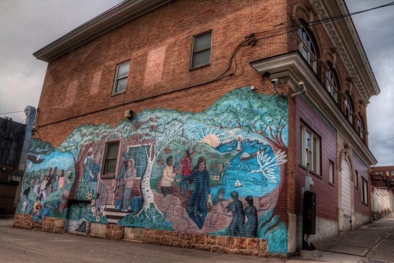 Το Duluth είναι ένας δημοφιλής τόπος προορισμού τουριστών ανώτερο Midwest επάνω στοκ φωτογραφίες