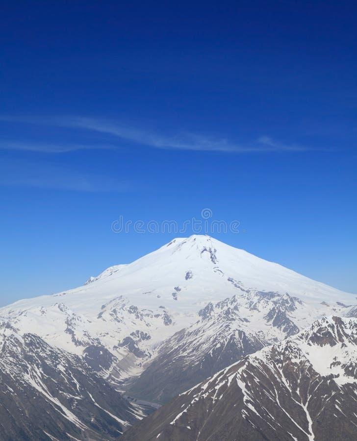 το elbrus επικολλά στοκ εικόνα