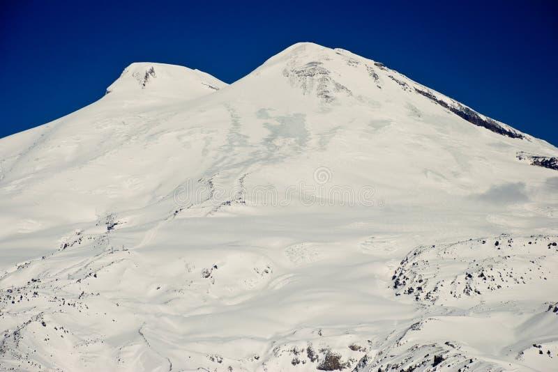 το elbrus επικολλά στοκ φωτογραφία με δικαίωμα ελεύθερης χρήσης