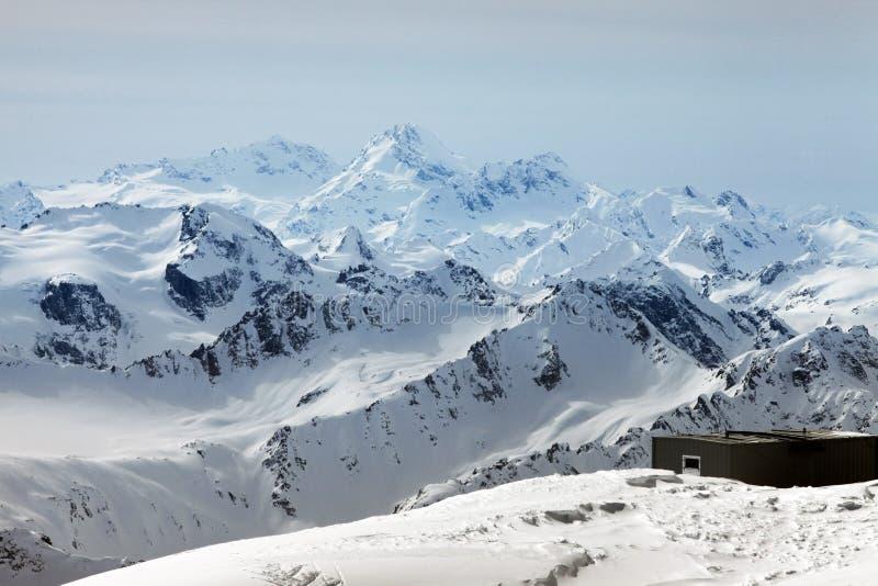 Το Elbrus τοποθετεί στοκ φωτογραφία