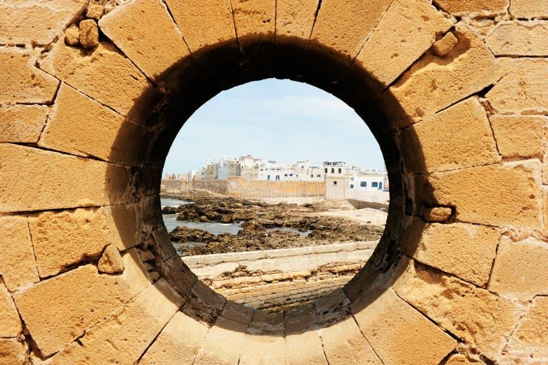 Το Essaouira είναι πόλη και ένας λιμένας στην ατλαντική ακτή στο Μαρόκο Το Essaouira είναι πόλη στη δυτική μαροκινή περιοχή στον  στοκ φωτογραφία με δικαίωμα ελεύθερης χρήσης