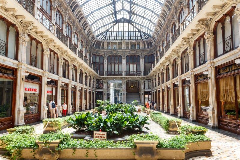 Το Galleria Subalpina, Τορίνο στοκ εικόνες με δικαίωμα ελεύθερης χρήσης