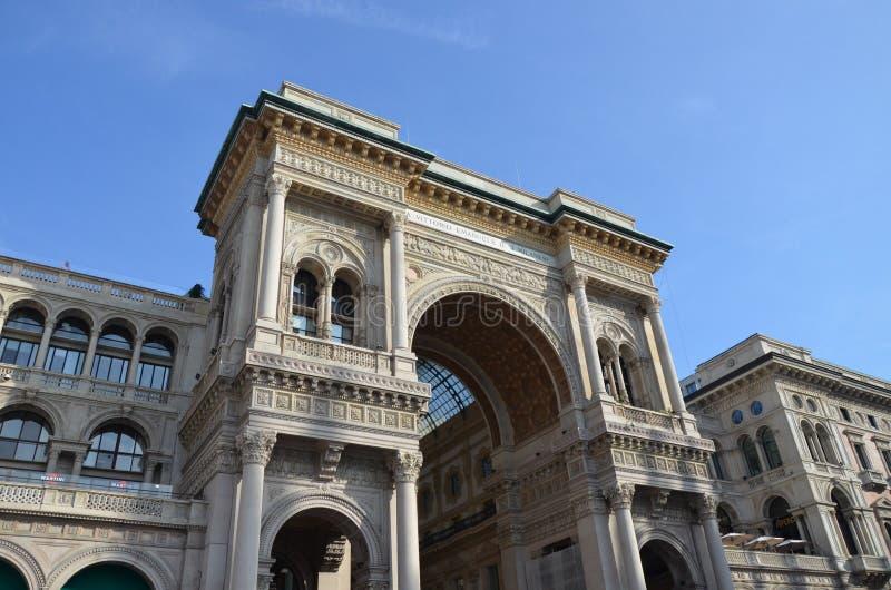 Το Galleria Vittorio Emanuele ΙΙ στοκ εικόνες με δικαίωμα ελεύθερης χρήσης