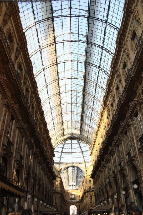 Το Galleria Vittorio Emanuele ΙΙ στοκ εικόνα με δικαίωμα ελεύθερης χρήσης