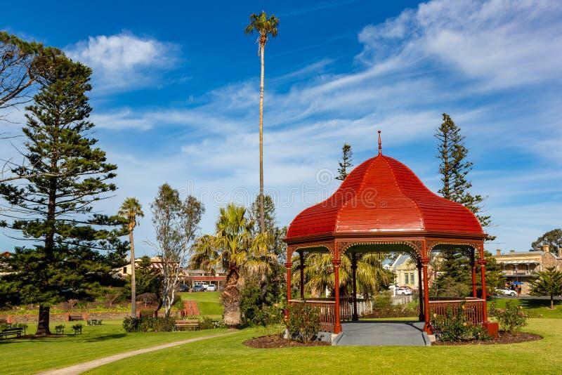 Το gazebo rotunda στον αναμνηστικό κήπο στρατιωτών σε Strathalby στοκ εικόνα με δικαίωμα ελεύθερης χρήσης