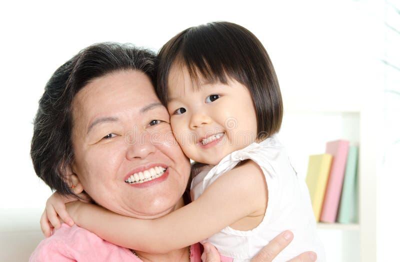 το grandma ι αγαπά το μου στοκ φωτογραφίες με δικαίωμα ελεύθερης χρήσης