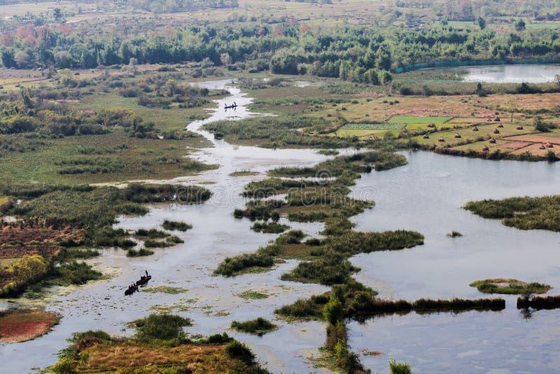 Το Guilin εθνικό πάρκο υγρότοπου Xiankasite στοκ φωτογραφία με δικαίωμα ελεύθερης χρήσης