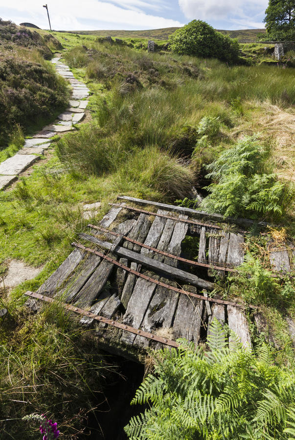 Το Haworth δένει Wuthering Heights, χώρα της Bronte Γιορκσάιρ Αγγλία στοκ φωτογραφίες με δικαίωμα ελεύθερης χρήσης