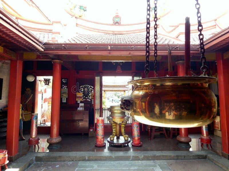 Το hio εγκαυμάτων για προσεύχεται στο ναό στοκ φωτογραφίες με δικαίωμα ελεύθερης χρήσης