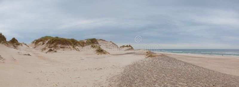 Το Hvide Sande είναι η επιτομή των παραλιών Δυτική Γιουτλάνδη, Δανία στοκ φωτογραφία με δικαίωμα ελεύθερης χρήσης