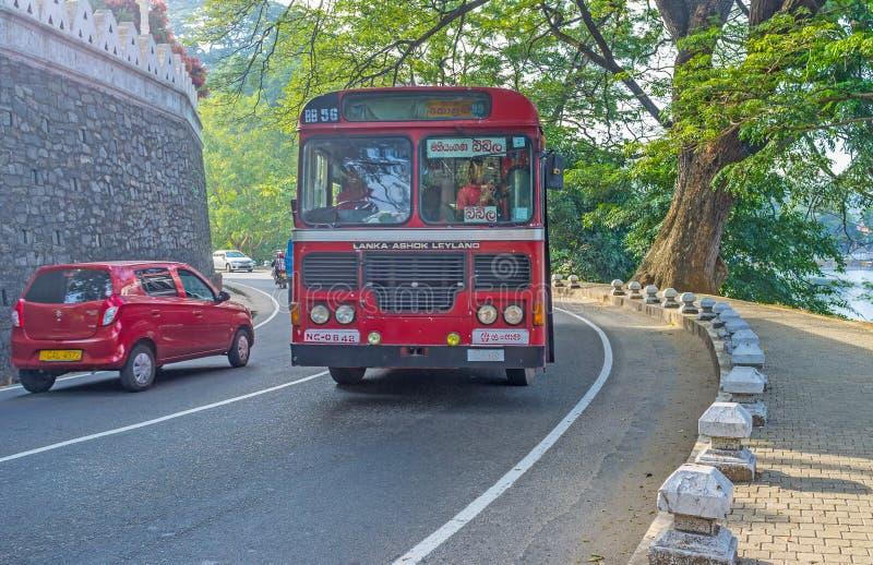 Το intercity λεωφορείο στοκ φωτογραφία με δικαίωμα ελεύθερης χρήσης