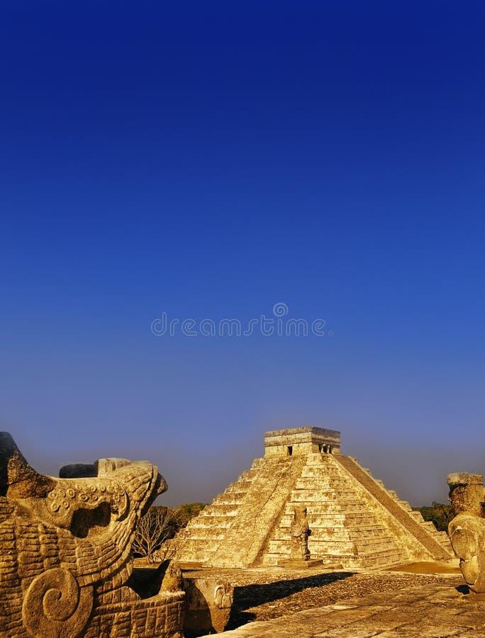 το itza Μεξικό στοκ φωτογραφίες