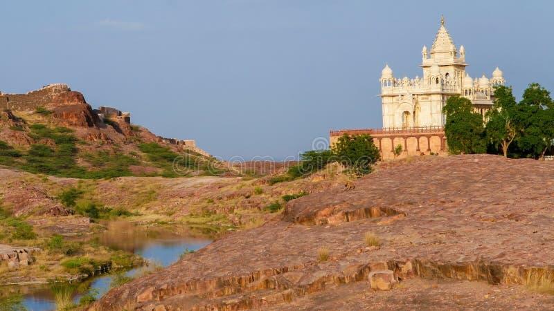 Το Jaswant Thada είναι ένα κενοτάφιο στο Jodhpur, Rajasthan στοκ φωτογραφίες με δικαίωμα ελεύθερης χρήσης