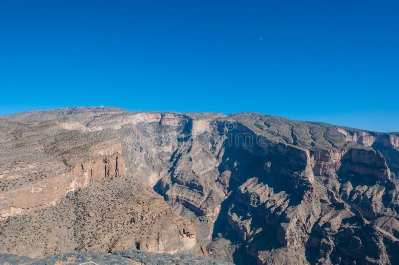 Το Jebel υποκρίνεται, πιό ψηλό βουνό της Μέσης Ανατολής, Ομάν στοκ φωτογραφίες με δικαίωμα ελεύθερης χρήσης