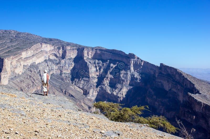 Το Jebel υποκρίνεται - σουλτανάτο του Ομάν στοκ εικόνα