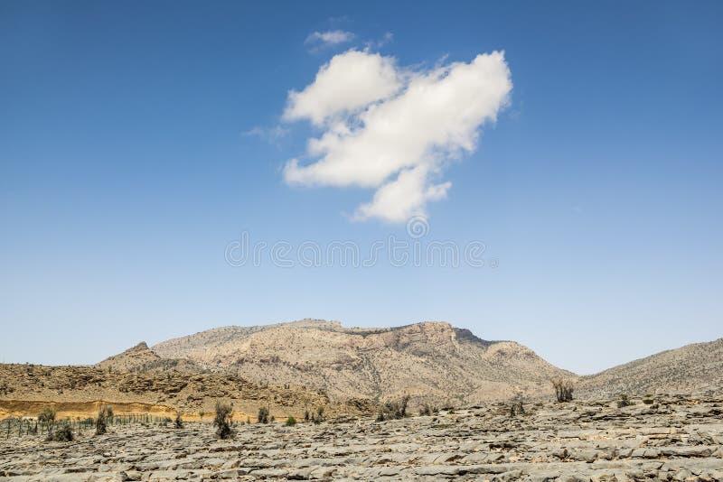 Το Jebel υποκρίνεται το Ομάν στοκ εικόνα με δικαίωμα ελεύθερης χρήσης