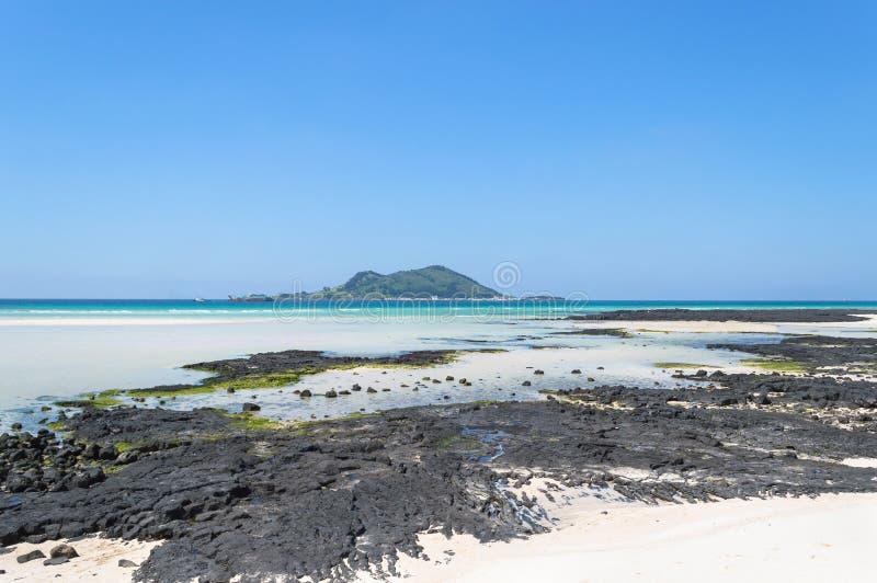 Το Jeju κάνει την παραλία στοκ εικόνες με δικαίωμα ελεύθερης χρήσης
