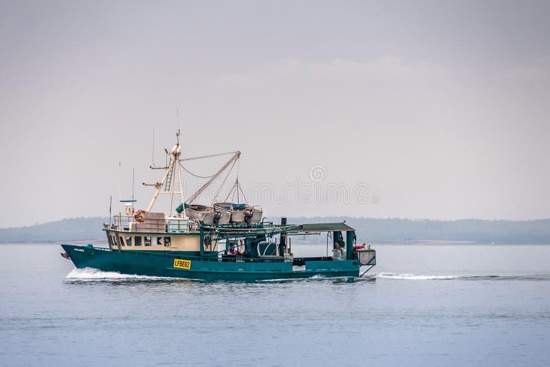 Το Kalinds το αλιευτικό σκάφος στη θάλασσα του Τιμόρ, Δαρβίνος, Αυστραλία στοκ φωτογραφία με δικαίωμα ελεύθερης χρήσης
