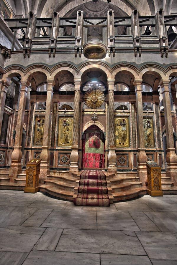 Το Katholikon του ιερού τάφου στοκ φωτογραφία
