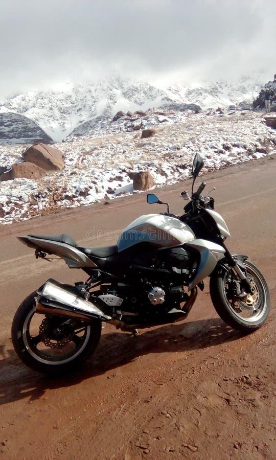 Το Kawasaki z1000 maroc στοκ φωτογραφίες