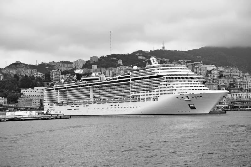 το Msc Divina κρουαζιερόπλοιων στοκ εικόνες