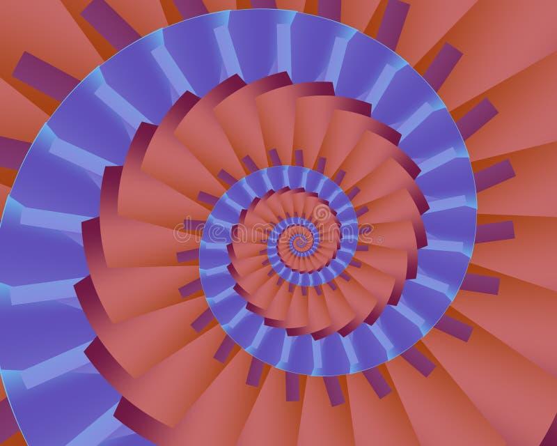 το nautilus τόνισε δύο διανυσματική απεικόνιση