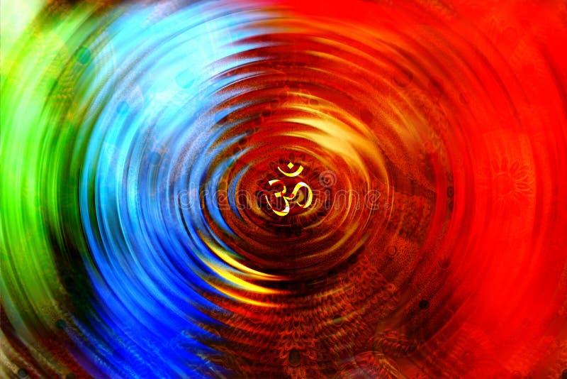 Το OM Chakra στοκ φωτογραφία με δικαίωμα ελεύθερης χρήσης