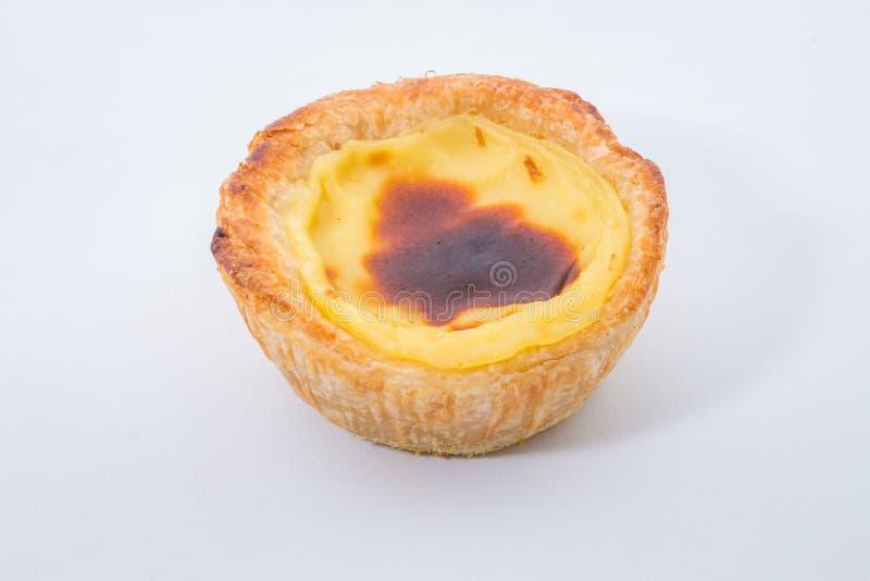 Το Pasteis de Βηθλεέμ είναι ξινές ζύμες χαρακτηριστικές πορτογαλικές αυγών past στοκ φωτογραφία με δικαίωμα ελεύθερης χρήσης