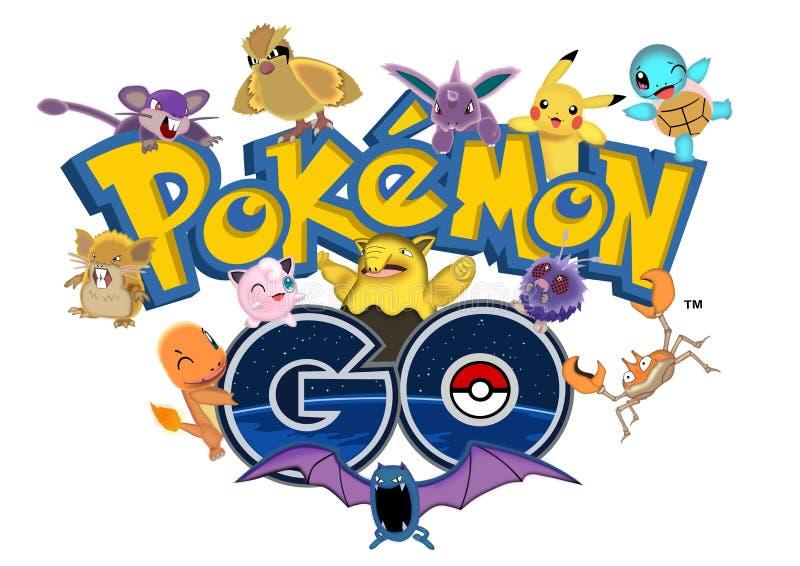 Το Pokemon πηγαίνει απεικόνιση αποθεμάτων