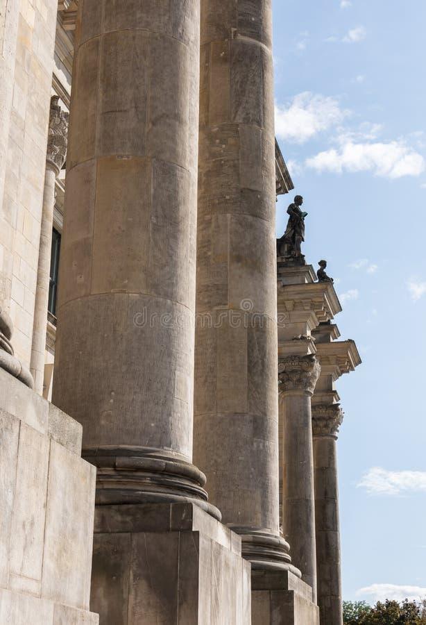 Το Reichstag, ιστορικό οικοδόμημα στο Βερολίνο στοκ εικόνες με δικαίωμα ελεύθερης χρήσης