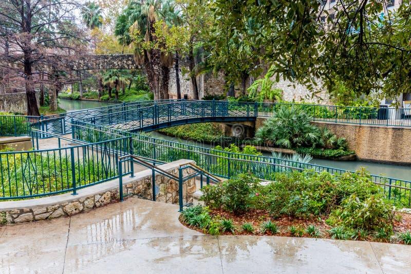 Το Riverwalk στο San Antonio, Τέξας στοκ φωτογραφία