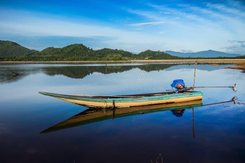Το Sampan στοκ εικόνες